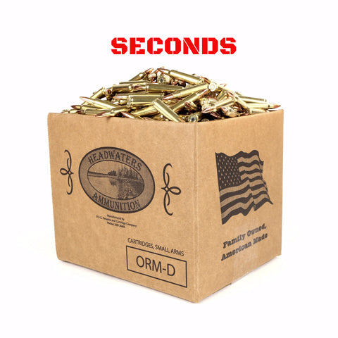 Headwaters Bulk Ammo .223 Rem Hornady 55 Grain Full Metal Jacket Box of 500 Rounds SECONDS (Free Shipping)