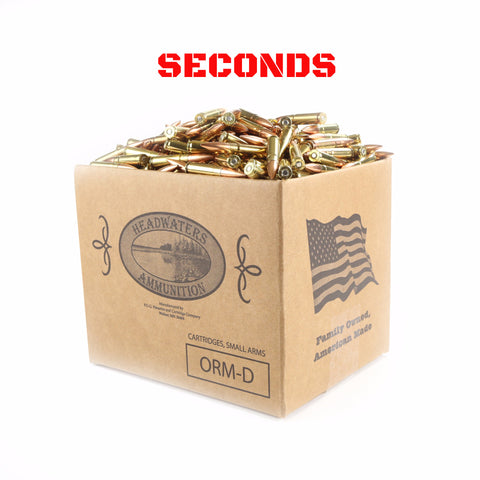 Headwaters Bulk Ammo 300 AAC Blackout Subsonic 220 Grain MatchKing SECONDS (Free Shipping)