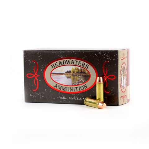 Headwaters Ammunition 38 Special Berry's 158 Grain Flat Point Box of 50 Rounds
