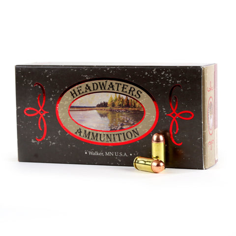 Headwaters Ammunition 40 S&W Berry's 180 Grain Round Nose Box of 50 Rounds