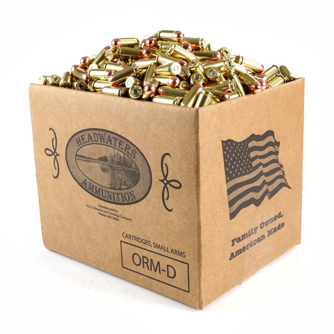 Headwaters Bulk Ammunition 40 S&W Berry's 180 Grain Round Nose Box of 1000 Rounds (Free Shipping)