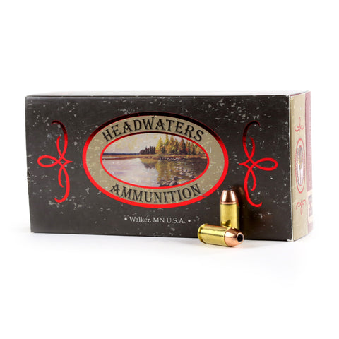 Headwaters Ammunition 40 S&W Hornady 180 Grain Hollow Point-XTP, 50 Rounds