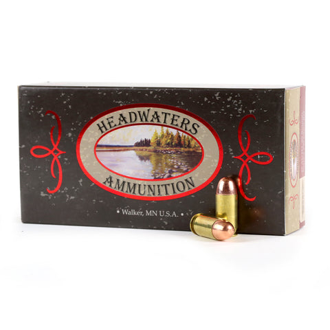 Headwaters Ammunition 45 ACP Berry's 230 Grain Round Nose Box of 50 Rounds