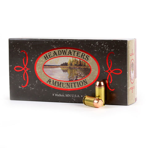 Headwaters Ammunition 45 ACP Berry's 200 Grain Hollow Base Flat Pount Box of 50 Rounds
