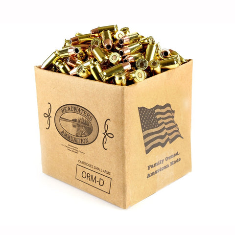 45 ACP Hornady 200 Grain Hollow Point-XTP NEW BRASS, 500 Rounds