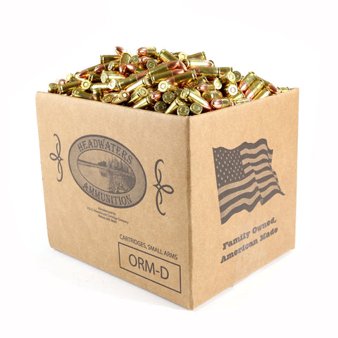 Headwaters Bulk Ammunition 9mm Luger Berry's 124 Grain Round Nose