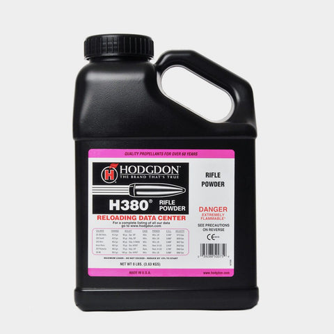 Hodgdon H380 Rifle Powder 8 LB, Price includes Hazmat and free shipping!