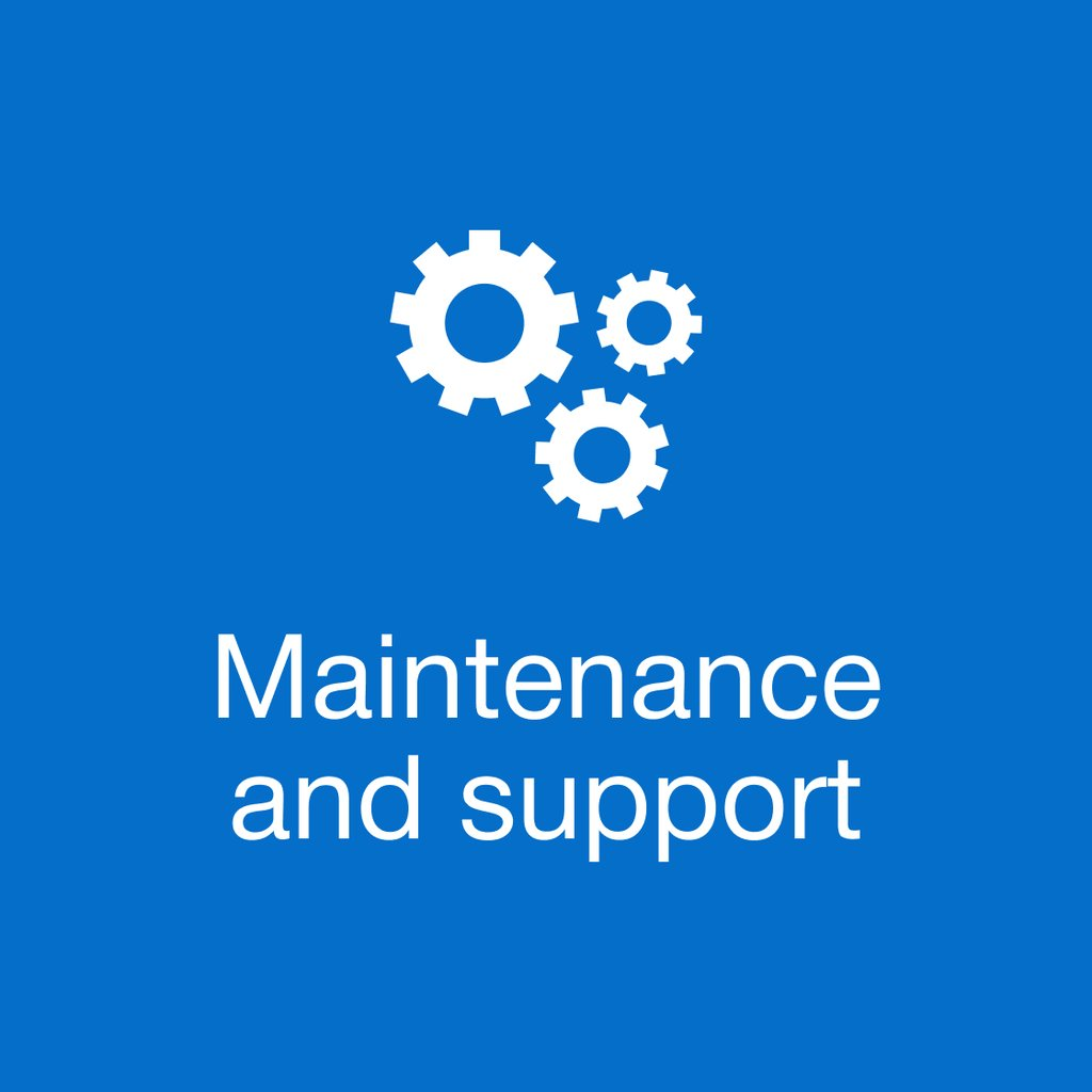 Maintenance & Support