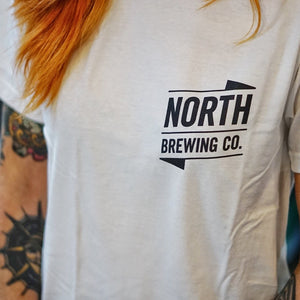 North logo t-shirt - Unisex (white, short sleeved)