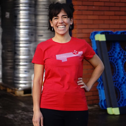 NB Wave t-shirt - ladies fit (red)