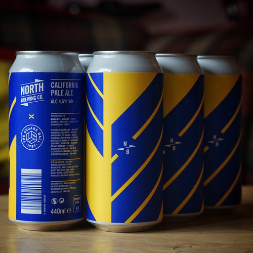 North X The Square Ball - California Pale Ale 4.5% - Case of 6 or 12