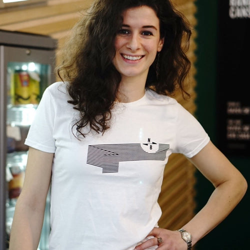 NB Wave t-shirt - ladies fit (white)