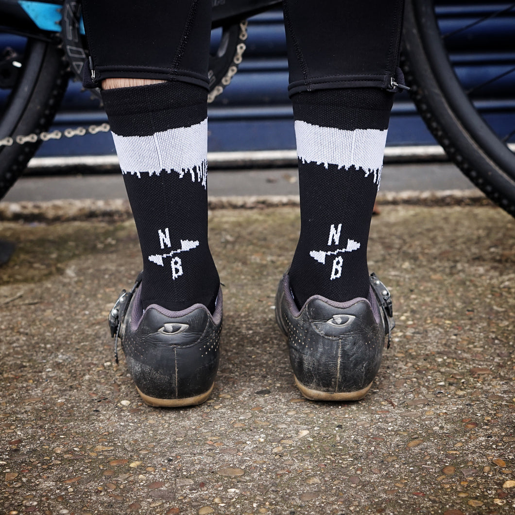 North X Paria Spray Paint Socks
