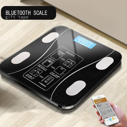 Fitness Digital Body Weight, Fat, bmi Scale