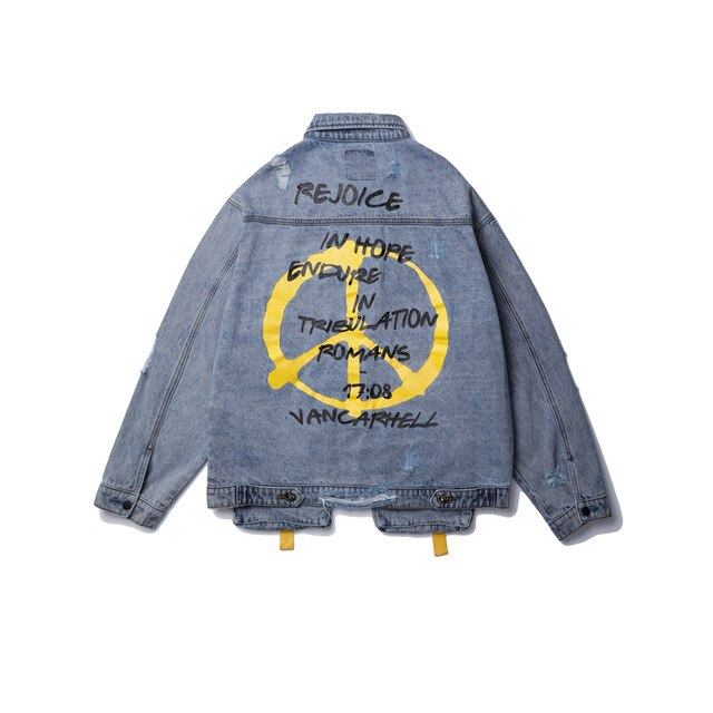 Endure Peace Denim Jacket
