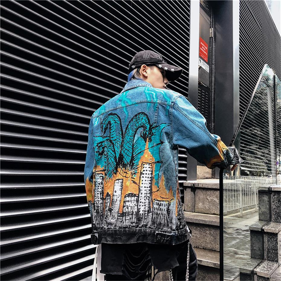 Limited Edition Kaiju Panic Denim Jacket