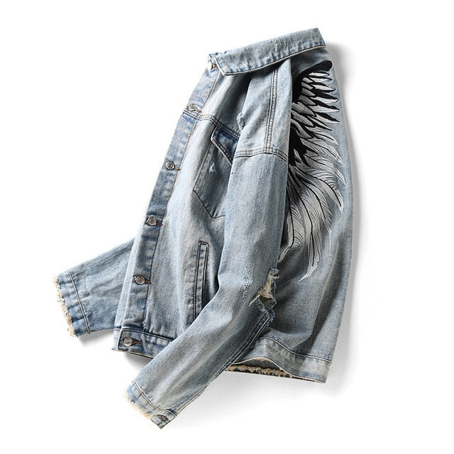 True Angel Denim Jacket