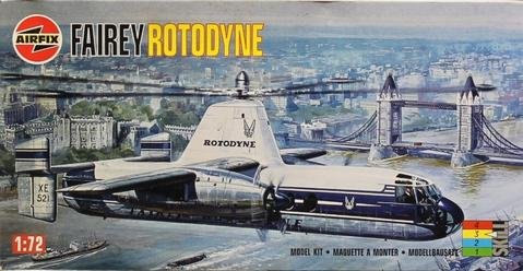 Fairey Rotodyne  1/72 Scale Plastic Model Kit