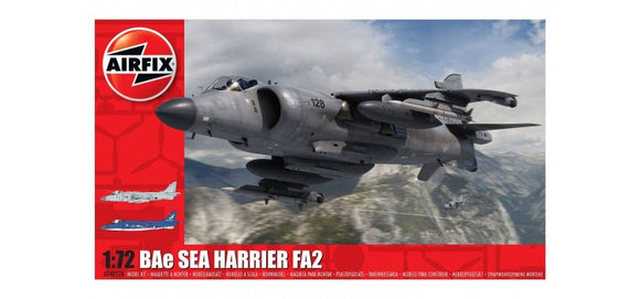 BAE Sea Harrier FA 2 1/72 Scale Plastic Model Kit Airfix A04052