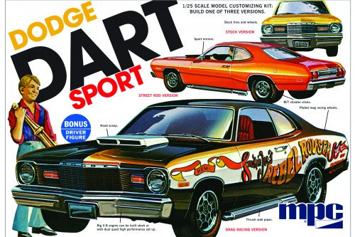 1975 Dodge Dart Sport 1/25 Scale
