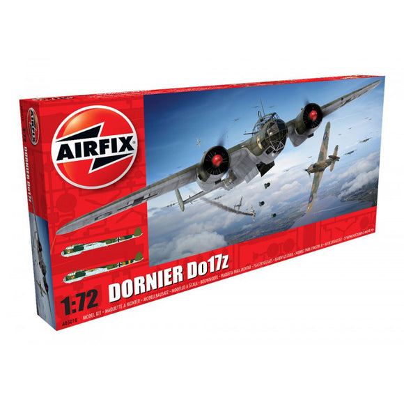 Dornier Do17Z Medium Bomber 1/72 Scale Plastic Model Kit