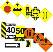 Road Signs HO Scale