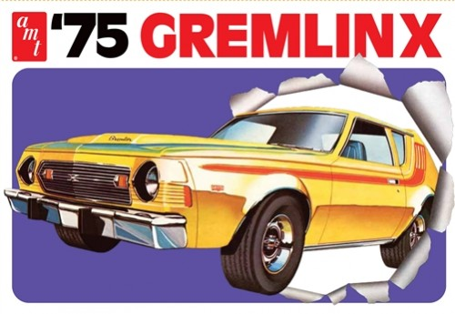 1975 AMC Gremlin X 1/25 Plastic Model Car Kit