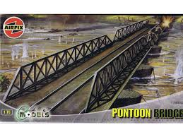 Pontoon Bridge 1/76 Diorama Model Kit