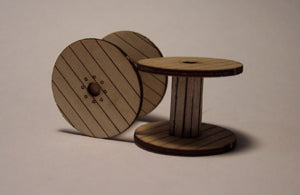 Large Wire Reel HO Scale
