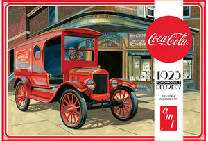 "1923 Ford Model T Delivery ""Coca Cola"" 1/25 Plastic Model Car Kit"