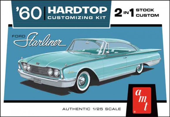 1960 Ford Starliner Hardtop 1/25 Plastic Model Car Kit AMT1055