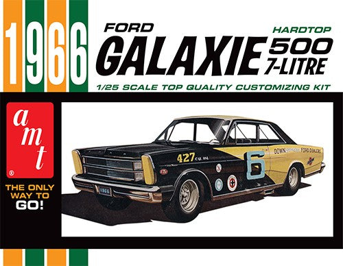 1966 Ford Galaxie 500 Hardtop 1/25 Plastic Model Car Ki
