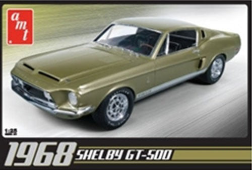 1968 Shelby GT-500 1/25 Plastic Model Car Kit AMT634