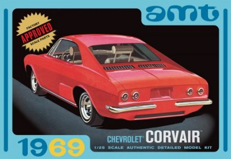 1969 Chevrolet Corvair 1/25 Scale Plastic Model Kit