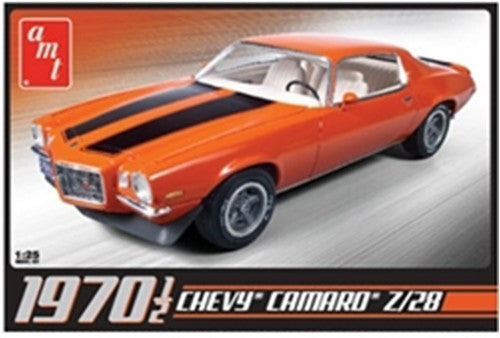 1970 1/2 Chevy Camaro Z28 1/25 Plastic Model Car Kit AMT635