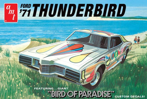 1971 Ford Thunderbird Plastic Model Car Kit