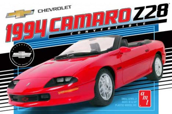 1994 Chevy Camaro Z28 Convertible 1/25 Plastic Model Car Kit AMT10030