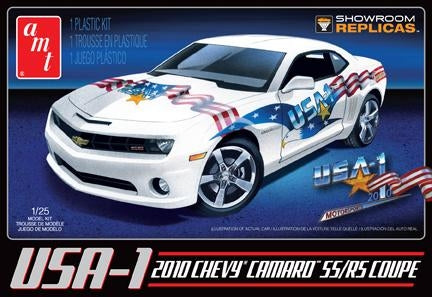 2010 Chevy Camaro RS/SS USA-1 1/25 Plastic Model Car KitAMT778
