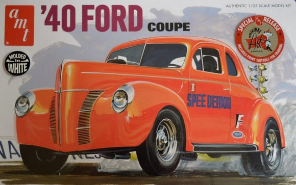 1940 Ford Coupe Car Model 1/25 Scale Model Kit 730