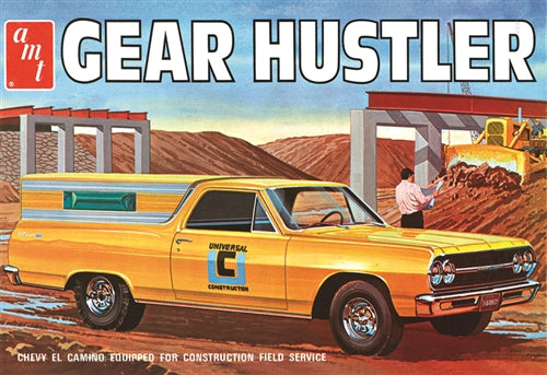 "Chevy El Camino ""Gear Hustler"" Plastic Model Car Kit AMT1096"