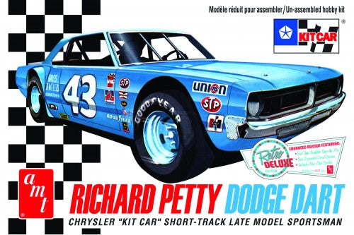 "Dodge Dart Sportsman ""Richard Petty"" Plastic Model Car Kit"