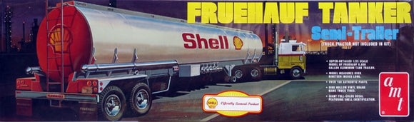 Fruehauf Tanker Semi Trailer 1/25 Scale Plastic Model Kit 918
