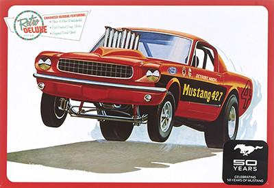 Mustang GT Drag Car 1/25 Plastic Model Car Kit AMT888