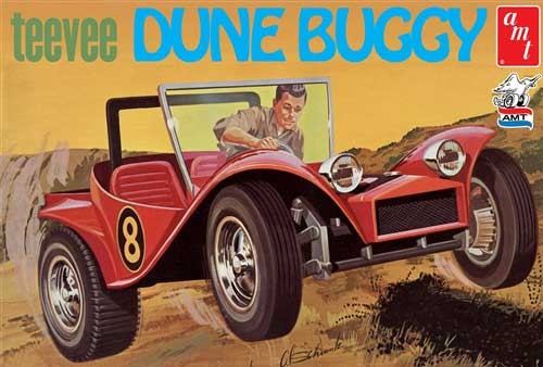 TeeVee Dune Buggy 1/25 Plastic Model Car Kit AMT907