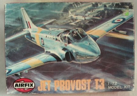BAC Jet Provost T3 Trainer 1/72 Scale Plastic Model Kit