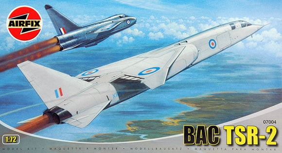 BAC TSR 2 Strike Fighter 1/72 Scale Plastic Model Kit