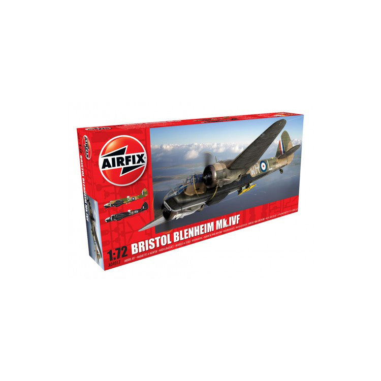 Bristol Blenheim MKlVF 1/72 Scale Plastic Model Kit