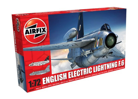 English Electric Lightning F6 Fighter Plastic Model Kit