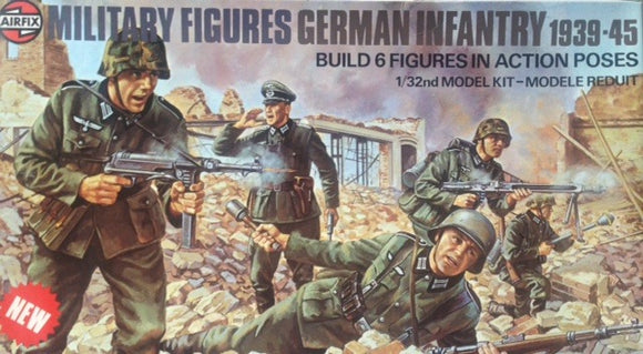German Infantry 39-45  Military Figures Set 1/32 Scale