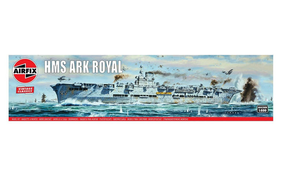 HMS Ark Royal Aircraft Carrier 1/600 Scale